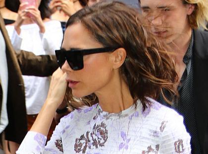 Fani zniesmaczeni wypowiedzią Beckham. Pochwaliła się, że jej 5-letnia córka umie biegać na obcasach
