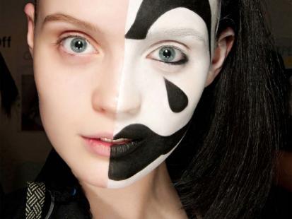 Fantazyjne makijaże na Halloween