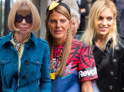 Fashionistki świata: Wintour, Rubik i Dello Russo przed pokazem Gucci