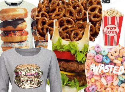 Fast Food jest w modzie! Przegląd ubrań