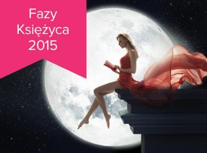 Fazy Księżyca w 2015 roku