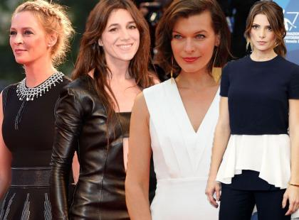 Festiwal w Wenecji 2014: kreacje Thurman, Gainsbourg, Jovovich i Greene