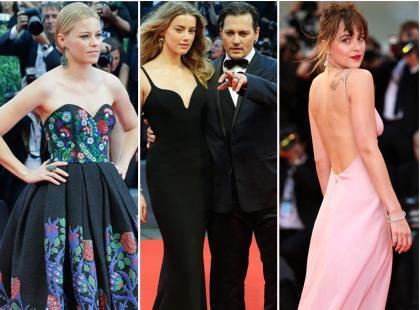 Festiwal w Wenecji trwa! Johnson, Depp, Kruger i inne gwiazdy na czerwonym dywanie