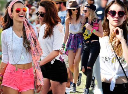 Festiwalowa moda według gwiazd na wiosnę i lato 2013