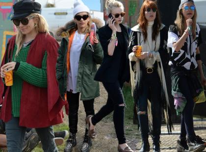 Festiwalowe hity gwiazd z Glastonubury 2013