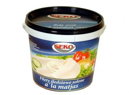 Filety śledziowe solone a'la matjas SEKO S.A.