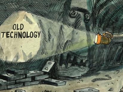 Filip Chajzer: Jak to jest być dinozaurem i starą truflą
