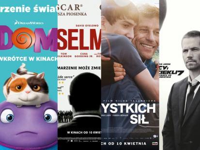 Filmowe nowości w kinach już od 10 kwietnia