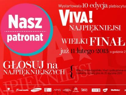 Finał plebiscytu VIVA! Najpiękniejsi już 11 lutego!