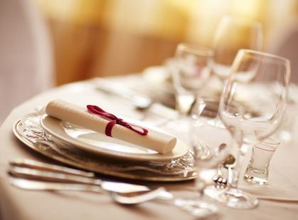 Finezyjna zastawa stołowa