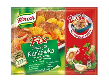 Fix Knorr Soczysta Karkówka z warzywami