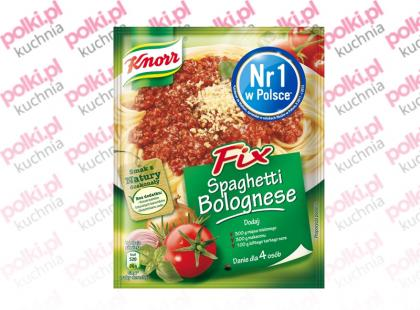 Fix Knorr Spaghetti Bolognese