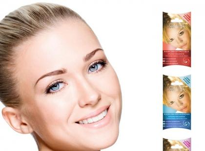 Fizelinowe maseczki z linii Exclusive Cosmetics/ fot. Media Forum PR