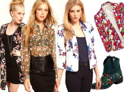 Flower print - trendy 2012/13