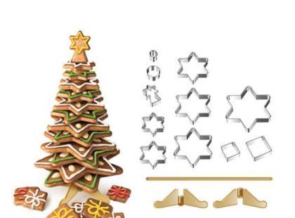 Foremki i inne gadżety na bożonarodzeniowe pierniczki