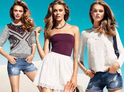 Frida Gustavsson prezentuje H&M na wiosnę i lato 2013