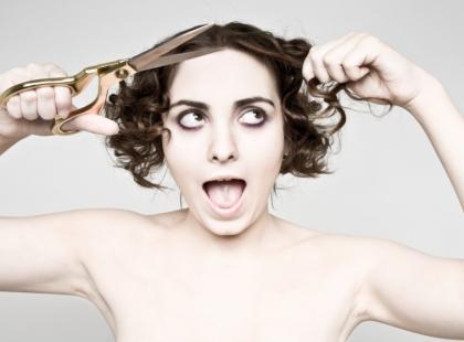 Fryzura inspirowana magazynem Vogue