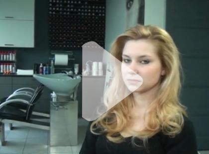 Fryzura na święta - zmysłowe fale [video]