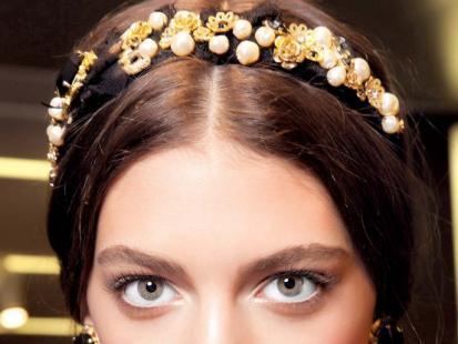 Fryzura na topie: W barokowym stylu