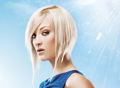 Fryzury półkrótkie włosy