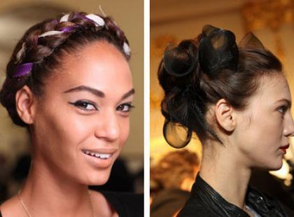 Fryzury trendy: splot albo węzeł