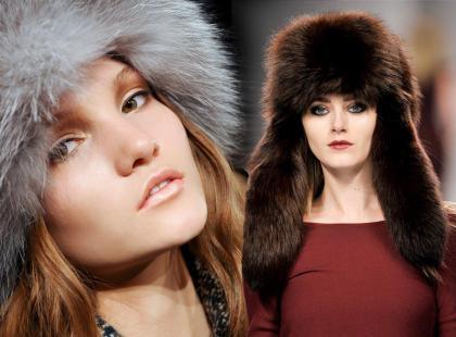 Futrzane czapki na zimę