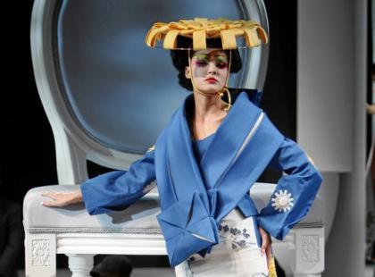 Futuryzm po japońsku - kolekcja Diora