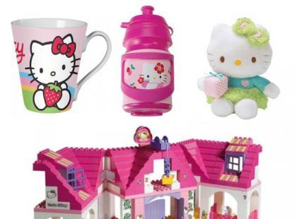 Gadżety dla małych fanów Hello Kitty – galeria