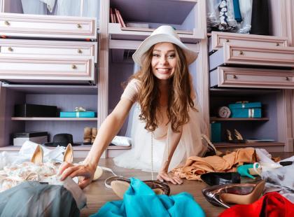 Garderoby to nie fanaberia. Dzięki nim znika problem przechowywania ubrań i obuwia
