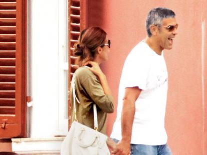 George Clooney i Elisabetta Canalis - Poznaj moich rodziców!