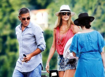 George Clooney i Stacy Keibler - Końca nie widać