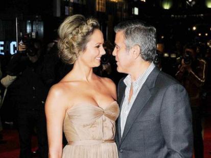 George Clooney i Stacy Keibler - Miłość popłaca