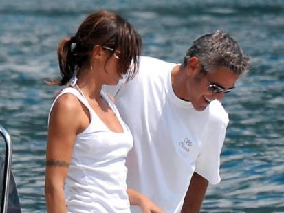 George Clooney z Elisabettą