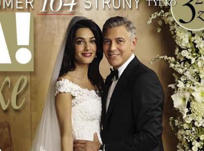 George Clooney z żoną na okładce najnowszej Vivy!