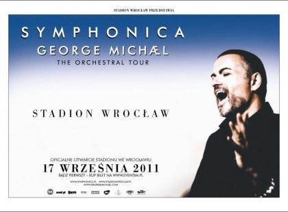 George Michael zagra z Orkiestrą Symfoniczną we Wrocławiu