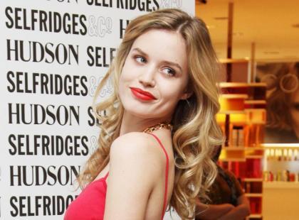 Georgia May Jagger promuje nowa kolekcję jeansów Hudson w Londynie