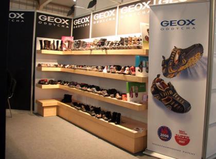 Geox na targach obuwia