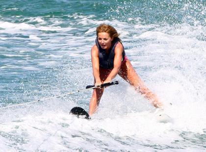 Geri Halliwell na wakacjach