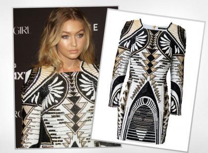 Gigi Hadid w sukience z sieciówki za prawie 2 tysiące złotych