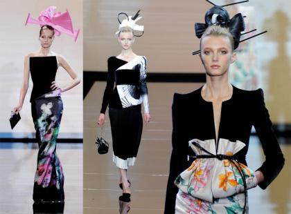 Giorgio Armani - kolecja haute couture jesień-zima 2011/2012