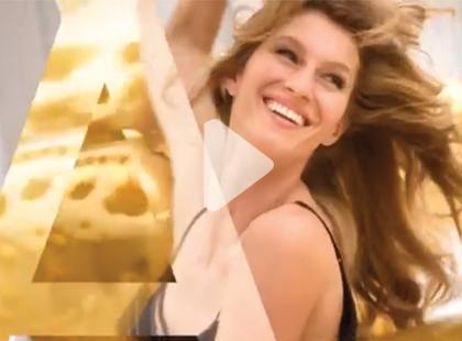 Gisele Bündchen ambasadorką marki Pantene [video]