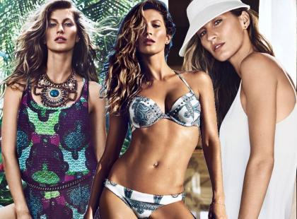 Gisele Bündchen i letnia kampania H&M