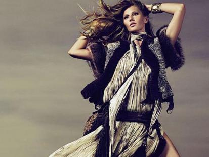 Gisele Bundchen w najnowszej kampanii Roberto Cavalli
