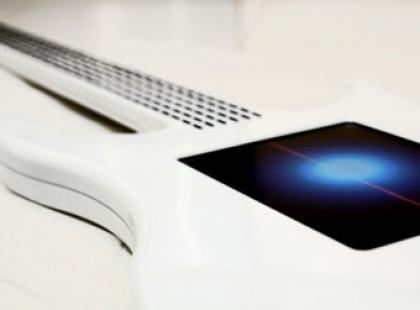 Gitara przyszłości- pozbawiona strun