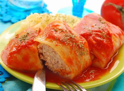 Gołąbki w pomidorowym sosie