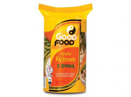 Good Food - wafle ryżowe z dyni