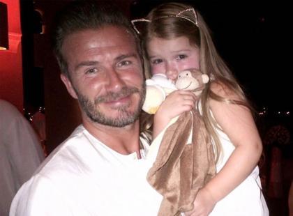 Gorąca dyskusja pod zdjęciem Davida Beckhama z córką! Internauci podzieleni
