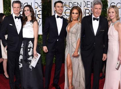 Gorące pary Hollywood na czerwonym dywanie