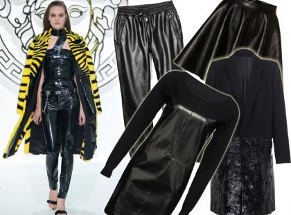 Gorący trend: 25 ubrań z czarnej skóry