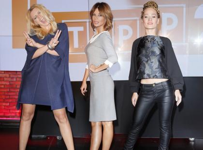 Górniak, Sadowska i Marika na konferencji The Voice